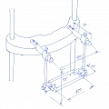 Nosič dichroického zrcadla - prototyp